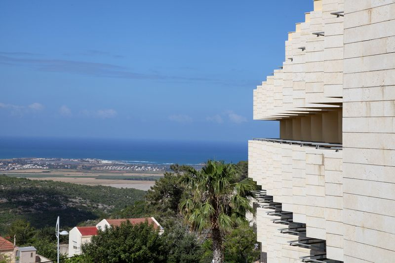 Nir Etzion Hotel, view to the Mediterranean Sea