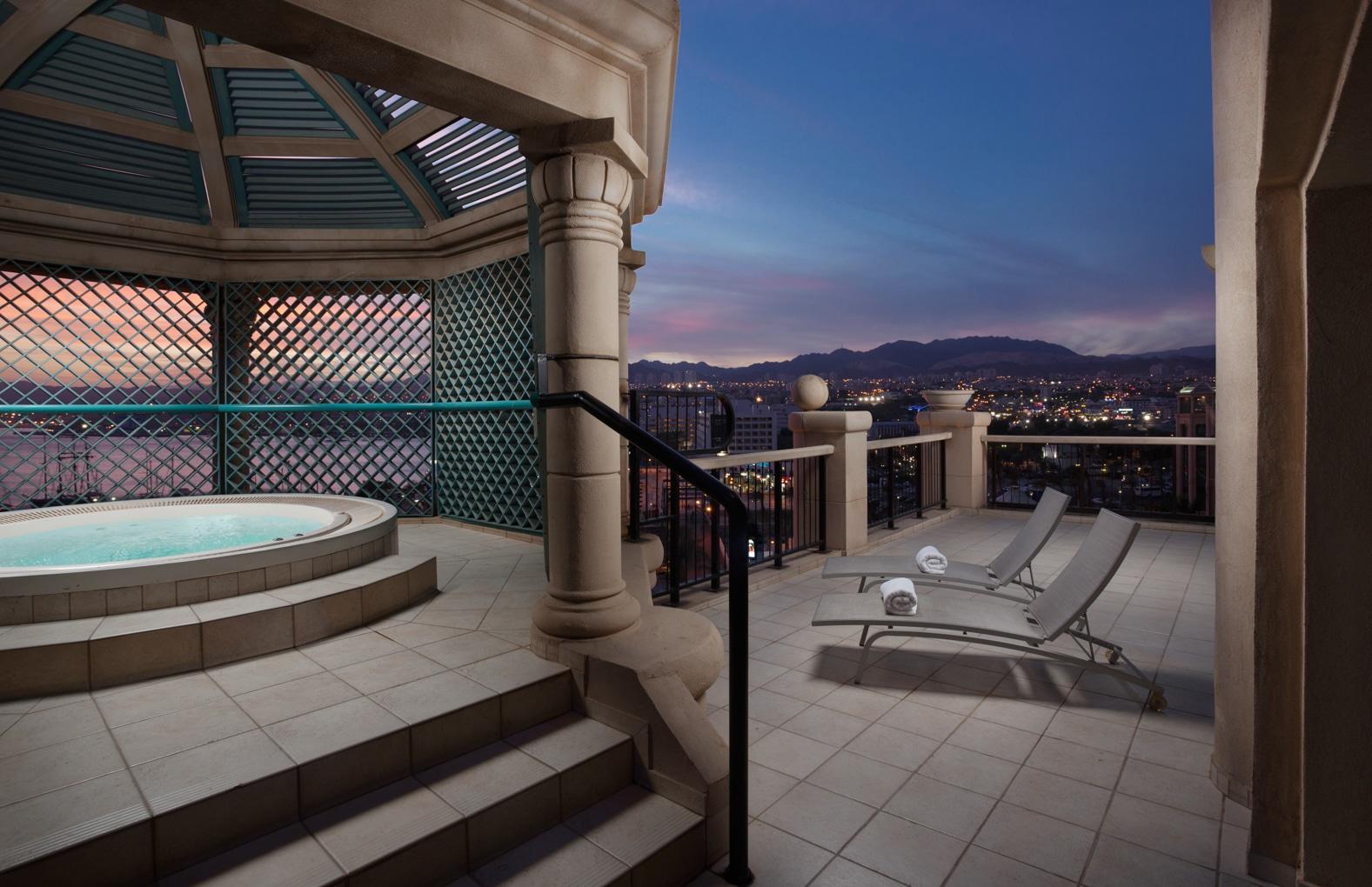 Queen of Sheba Hotel, Eilat, suite