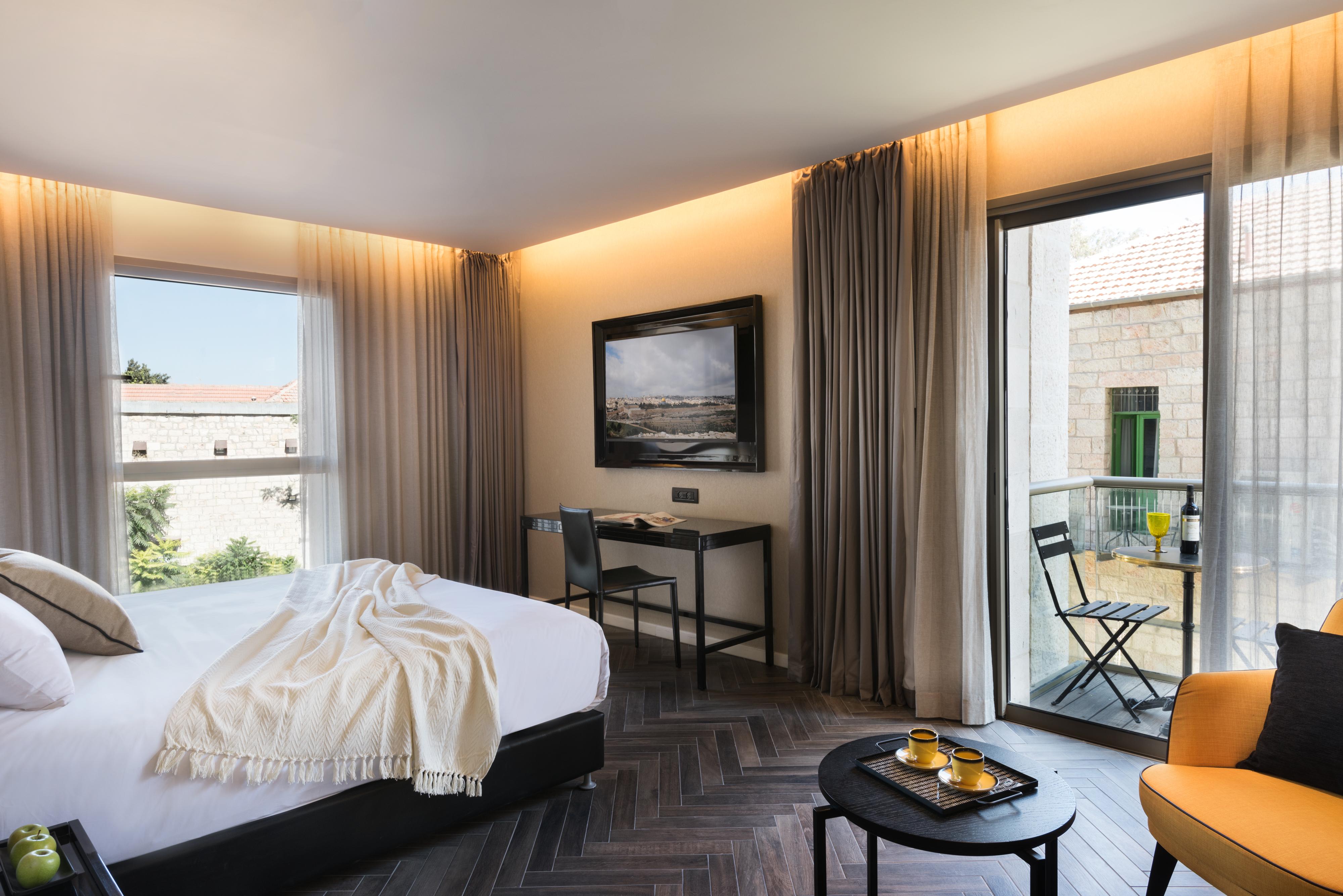 Hotel room in Leonardo Boutique, Jerusalem